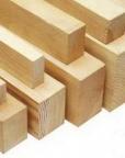 Брусок деревянный в ассортименте
