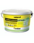 Готовая шпаклевка под покраску weber vetonit LR Pasta